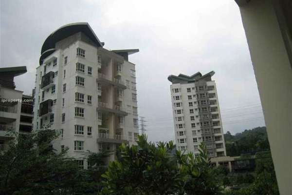 For Rent Condominium at Hijauan Kiara, Mont Kiara Freehold Fully Furnished 4R/4B 7k