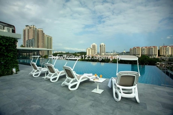 For Rent Condominium at The Signature, Sri Hartamas Freehold Semi Furnished 1R/1B 2.3k