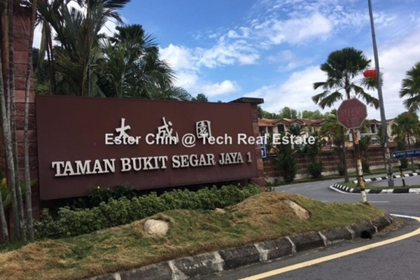 For Sale Link at Taman Bukit Segar, Cheras Leasehold Semi Furnished 4R/3B 900k