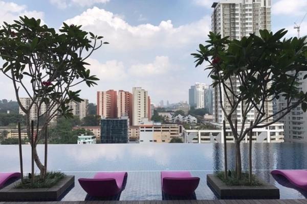 For Rent Serviced Residence at Nadi Bangsar, Bangsar Freehold Fully Furnished 1R/1B 3.5k