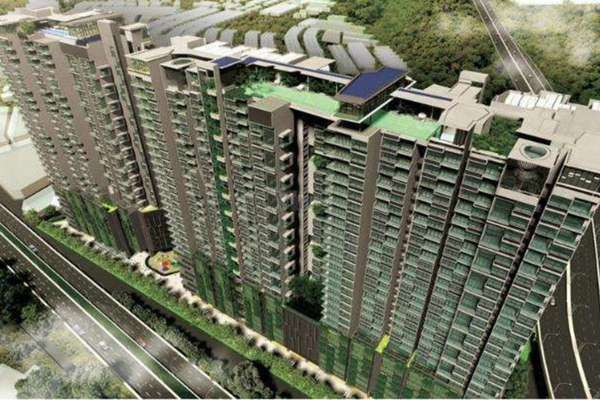 For Sale Condominium at The Leafz, Sungai Besi Freehold Semi Furnished 2R/2B 680k