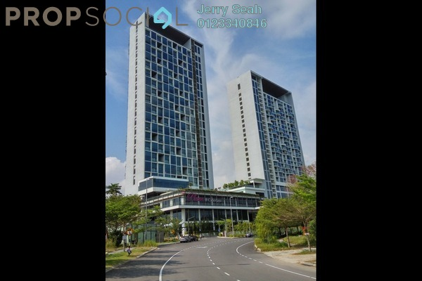 For Rent Serviced Residence at The Place, Cyberjaya Freehold Fully Furnished 3R/1B 1.2k
