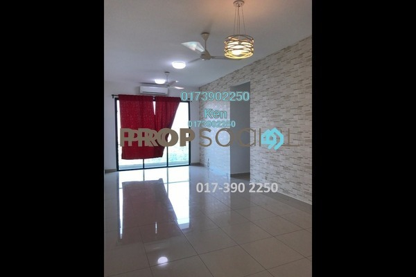 For Rent Condominium at USJ One Park, UEP Subang Jaya Freehold Semi Furnished 4R/3B 1.75k