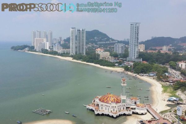 For Rent Condominium at Marina Tower, Tanjung Bungah Freehold Fully Furnished 2R/2B 2.3k