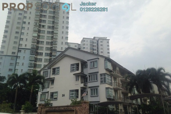 For Rent Condominium at Desa Impiana, Puchong Freehold Semi Furnished 3R/2B 1.1k