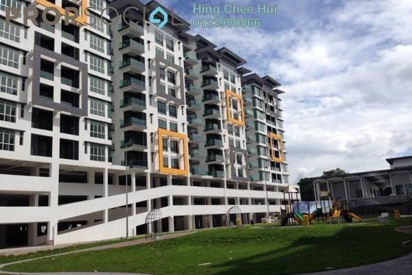 For Rent Condominium at Mahkota Garden Condominium, Bandar Mahkota Cheras Freehold Fully Furnished 4R/3B 1.3k