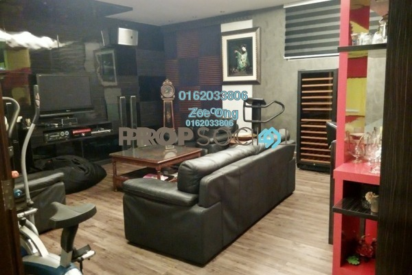 For Sale Duplex at 1 Bukit Utama, Bandar Utama Freehold Semi Furnished 3R/4B 3.6m