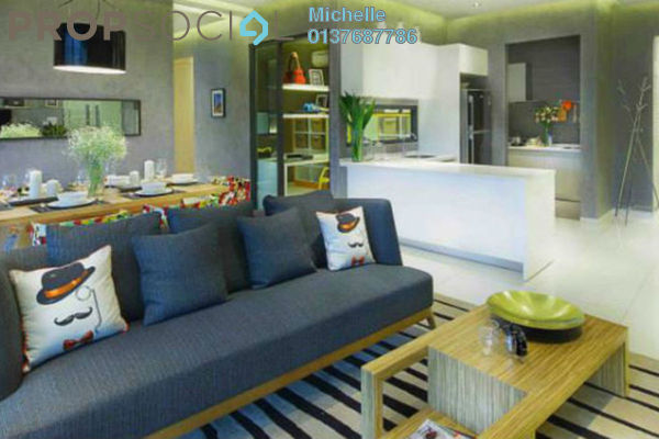 For Sale Condominium at CitiZen, Old Klang Road Freehold Fully Furnished 2R/2B 488k