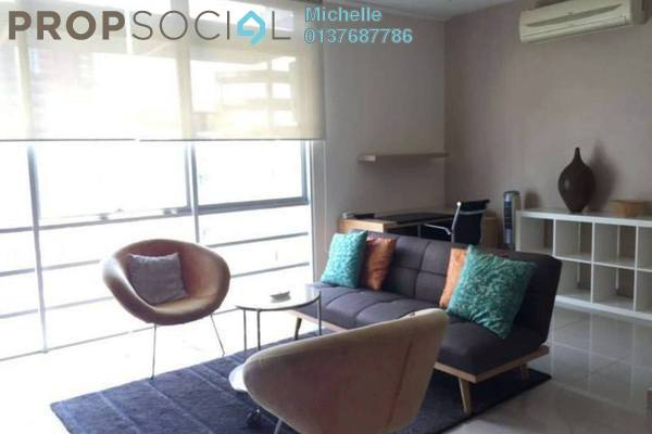 For Rent Serviced Residence at One Residency, Bukit Ceylon Freehold Fully Furnished 1R/1B 2.8k