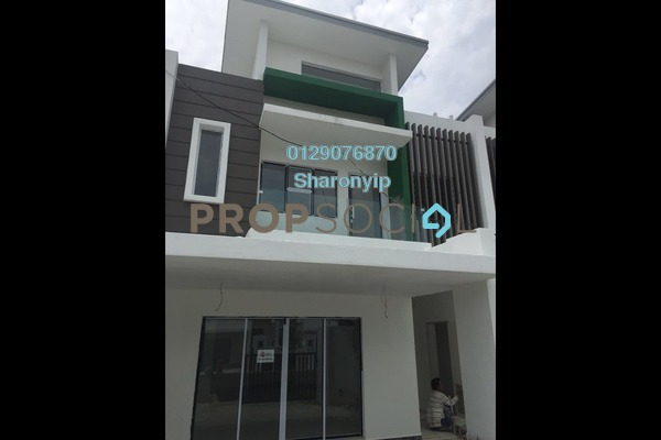 For Sale Terrace at The Clover Homes @ Laman Semanggi, Semenyih Freehold Unfurnished 4R/4B 570k