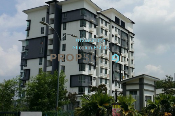 For Sale Apartment at Suria Apartment, Kota Damansara Leasehold Fully Furnished 3R/2B 480k