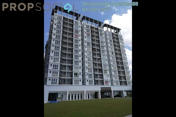 For Sale Condominium at Vina Versatile Homes, Cheras South Freehold Semi Furnished 3R/2B 460k