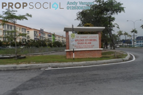 For Sale Shop at Dataran Otomobil, Shah Alam Leasehold Unfurnished 0R/1B 1.4m