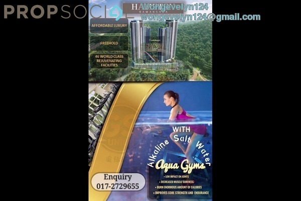 For Sale Serviced Residence at Hampton Damansara, Kuala Lumpur Freehold Semi Furnished 3R/2B 719k