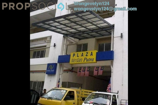 For Sale Serviced Residence at Plaza Medan Putra, Bandar Menjalara Freehold Unfurnished 3R/2B 398k