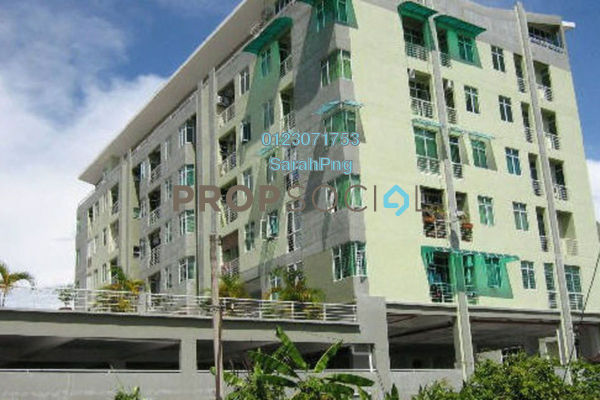 For Rent Apartment at The Bayu, Tanjung Tokong Freehold Unfurnished 3R/2B 1.25k