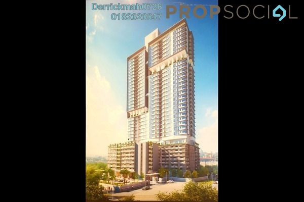 For Sale Serviced Residence at Rica Residence, Sentul Freehold Unfurnished 2R/2B 598k