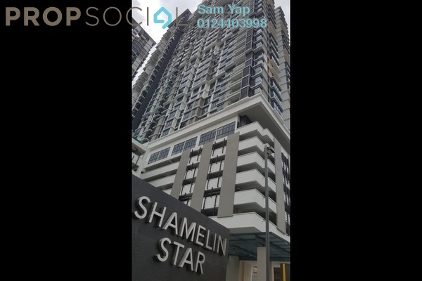 For Rent Serviced Residence at Shamelin Star Serviced Residences, Cheras Freehold Semi Furnished 3R/2B 2.8k
