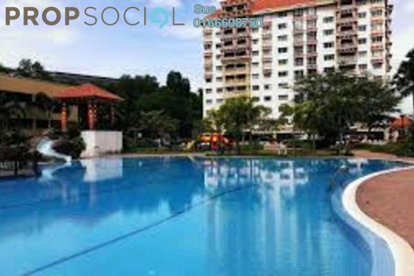 For Sale Condominium at Koi Tropika, Puchong Freehold Semi Furnished 4R/2B 420k