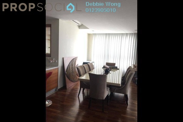 For Rent Condominium at Hijauan Kiara, Mont Kiara Freehold Semi Furnished 3R/3B 6k