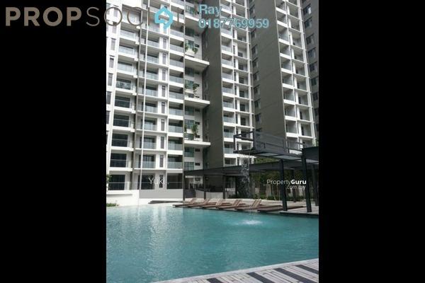 For Rent Condominium at Univ 360 Place, Seri Kembangan Freehold Semi Furnished 3R/2B 1.5k