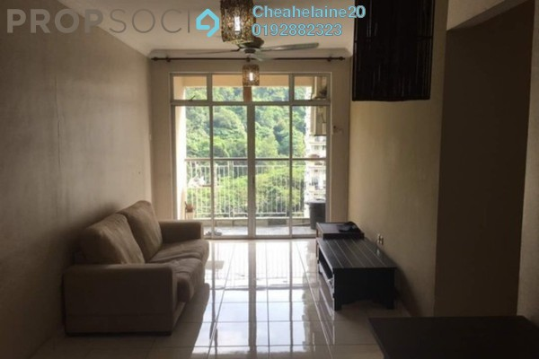 For Sale Condominium at Perdana View, Damansara Perdana Freehold Fully Furnished 3R/2B 550k