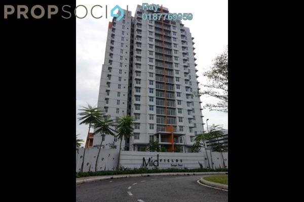 For Rent Condominium at Midfields, Sungai Besi Freehold Fully Furnished 3R/2B 2k