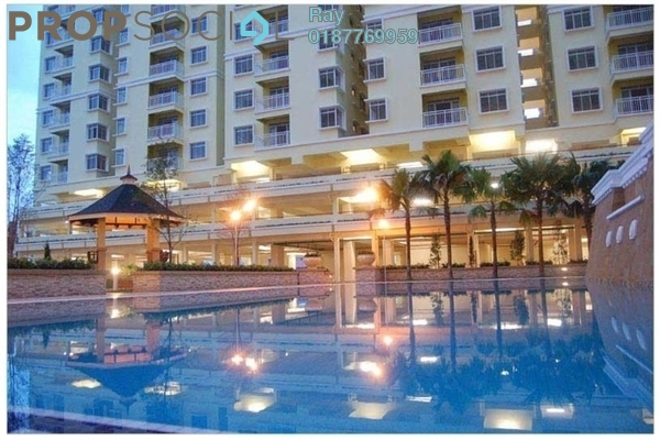 For Rent Condominium at Platinum Hill PV3, Setapak Freehold Fully Furnished 4R/2B 2k