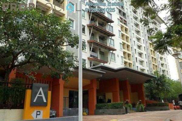 For Rent Condominium at Ritze Perdana 1, Damansara Perdana Freehold Semi Furnished 1R/1B 1.1k