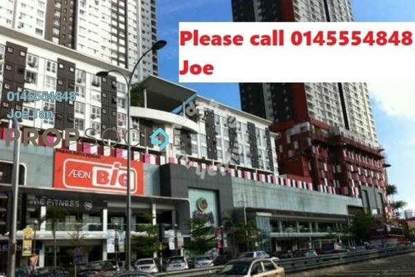 For Rent Condominium at Axis SoHu, Pandan Indah Freehold Semi Furnished 0R/1B 1k