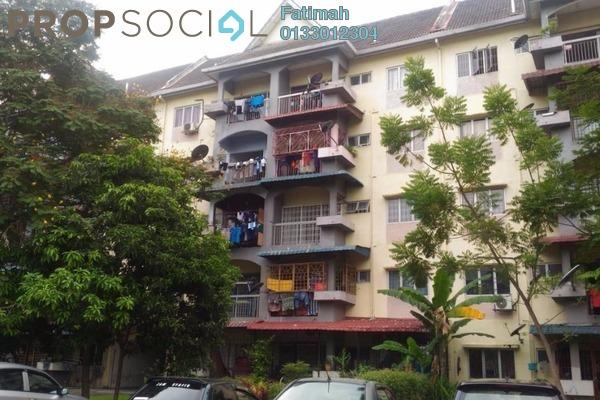 For Sale Apartment at Taman Sri Muda, Shah Alam Freehold Unfurnished 3R/2B 195k