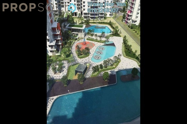 For Sale Condominium at Midfields 2, Sungai Besi Freehold Unfurnished 3R/2B 640k