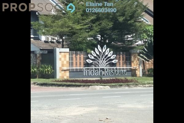 For Sale Terrace at Indah Residences, Kota Kemuning Freehold Semi Furnished 4R/4B 850k