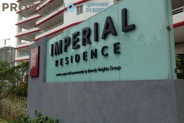 For Sale Condominium at Imperial Residence, Cheras South Freehold Unfurnished 2R/2B 450k