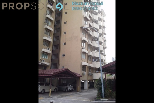 For Rent Condominium at Sri Desa, Kuchai Lama Freehold Semi Furnished 3R/2B 1.5k