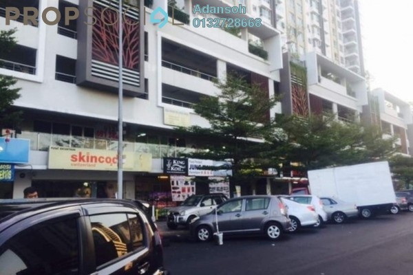 For Rent Shop at First Residence, Kepong Freehold Unfurnished 0R/2B 4.5k