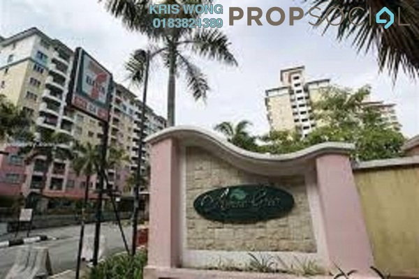For Rent Apartment at Arena Green, Bukit Jalil Freehold Fully Furnished 2R/2B 1.2k