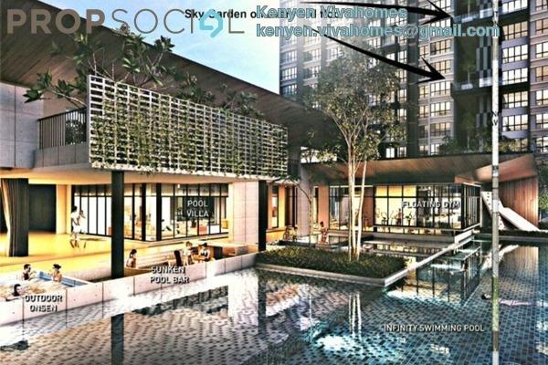 For Sale Condominium at Koi Kinrara, Bandar Puchong Jaya Freehold Unfurnished 2R/2B 480k