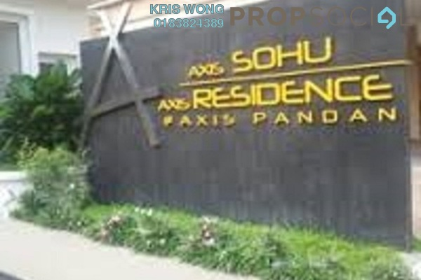 For Rent Serviced Residence at Axis Residence, Pandan Indah Freehold Semi Furnished 3R/2B 2k