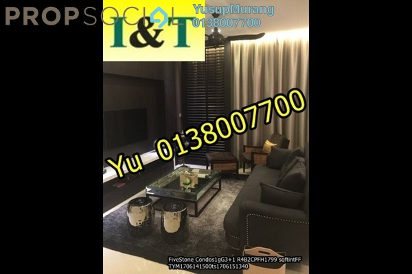 For Rent Condominium at Five Stones, Petaling Jaya Freehold Fully Furnished 4R/4B 5k