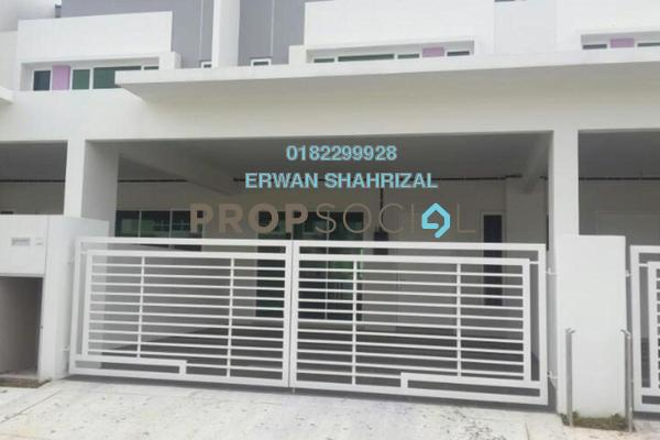 For Sale Terrace at Dextora, Bandar Sri Sendayan Freehold Unfurnished 4R/4B 480k