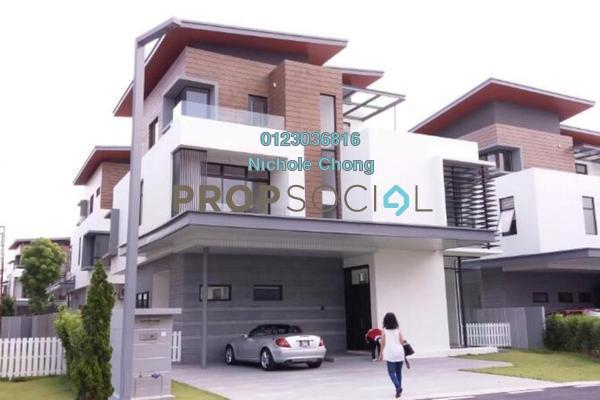 For Sale Bungalow at Long Branch Residences @ HomeTree, Kota Kemuning Freehold Unfurnished 6R/7B 2.5m