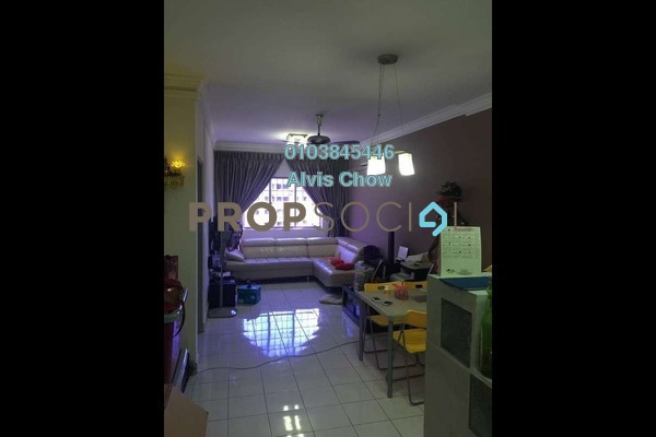 For Rent Apartment at Cemara Apartment, Bandar Sri Permaisuri Freehold Semi Furnished 3R/2B 1.45k
