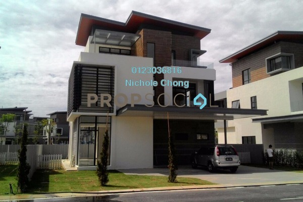 For Sale Bungalow at Long Branch Residences @ HomeTree, Kota Kemuning Leasehold Unfurnished 6R/7B 2.8m