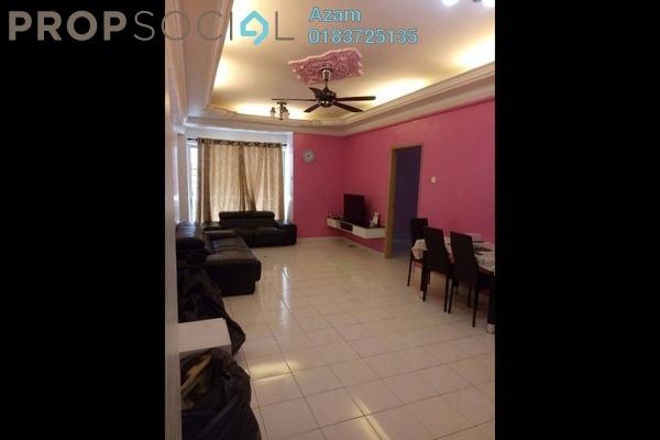 For Rent Condominium at Teratai Mewah Condominium, Setapak Freehold Fully Furnished 3R/2B 1.5k