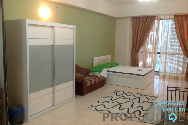 For Rent Condominium at Amcorp Serviced Suites, Petaling Jaya Freehold Fully Furnished 0R/1B 1.75k