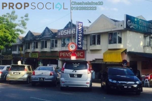 For Rent Shop at Taman Sri Sinar, Segambut Freehold Unfurnished 0R/2B 3.5k