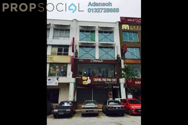 For Rent Shop at BP1, Bandar Bukit Puchong Freehold Unfurnished 0R/2B 18k