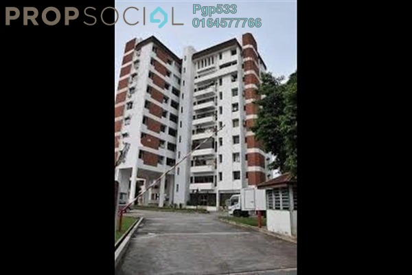 For Rent Apartment at Bangunan Anson, Georgetown Freehold Fully Furnished 3R/2B 2.5k