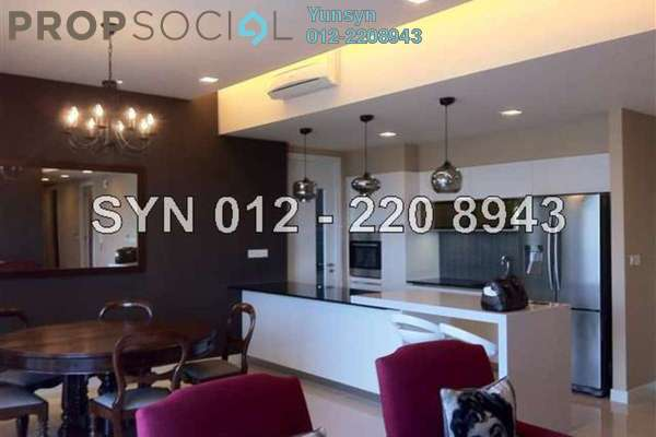 For Rent Condominium at Five Stones, Petaling Jaya Freehold Semi Furnished 3R/4B 4.0千